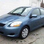 2009 Toyota Yaris Sedan 4D for $12,299